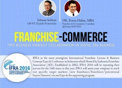 "Seminar Umum: ""Franchise-Commerce : two business strategy collaboration in digital era business"""