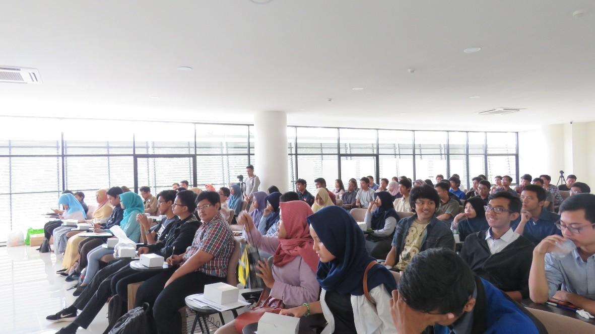 Suasana kegiatan workshop