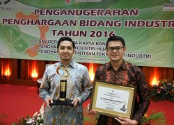 PT. Juragan Kapal Memperoleh Penghargaan Rintisan Teknologi Tahun 2016