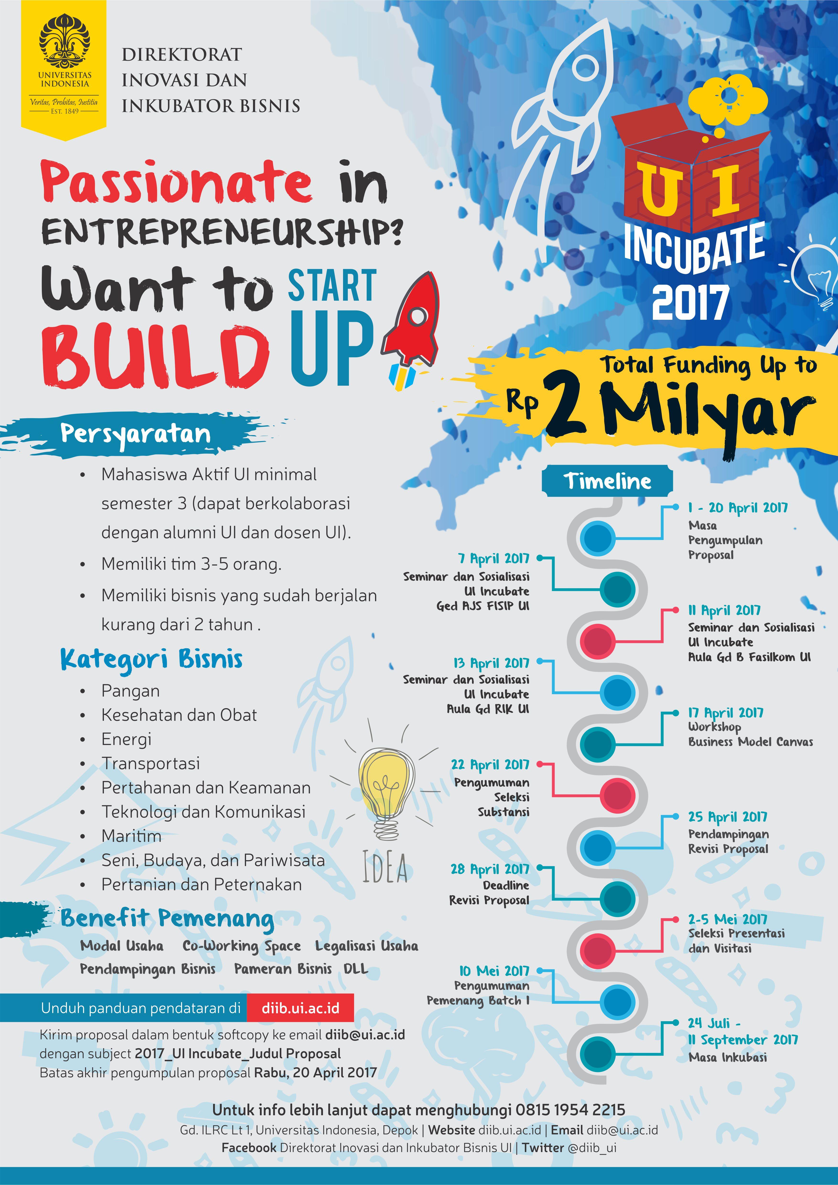 Poster UI Incubate 2017