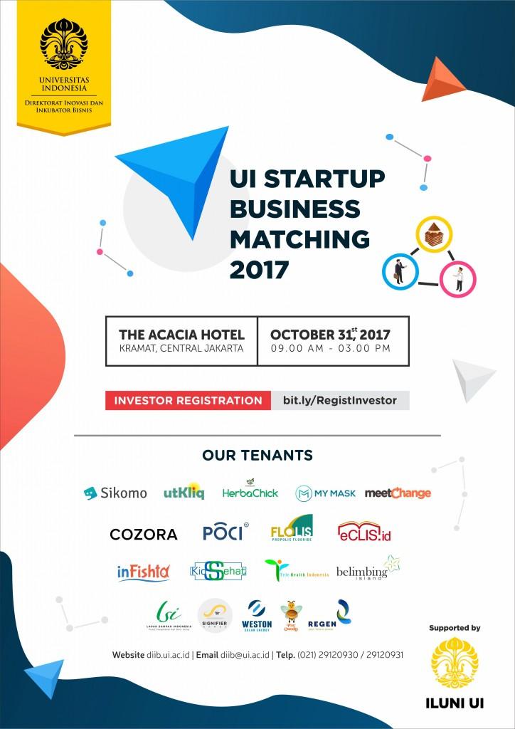 UI STARTUP BUSINESS MATCHING 2017