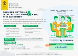 Founder Matching & Intellectual Property (IP) Mini Exhibition