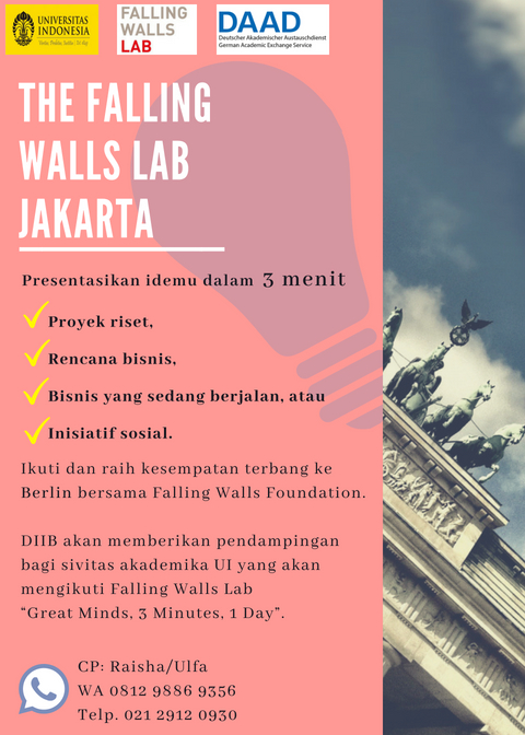 The Falling Walls Lab Poster
