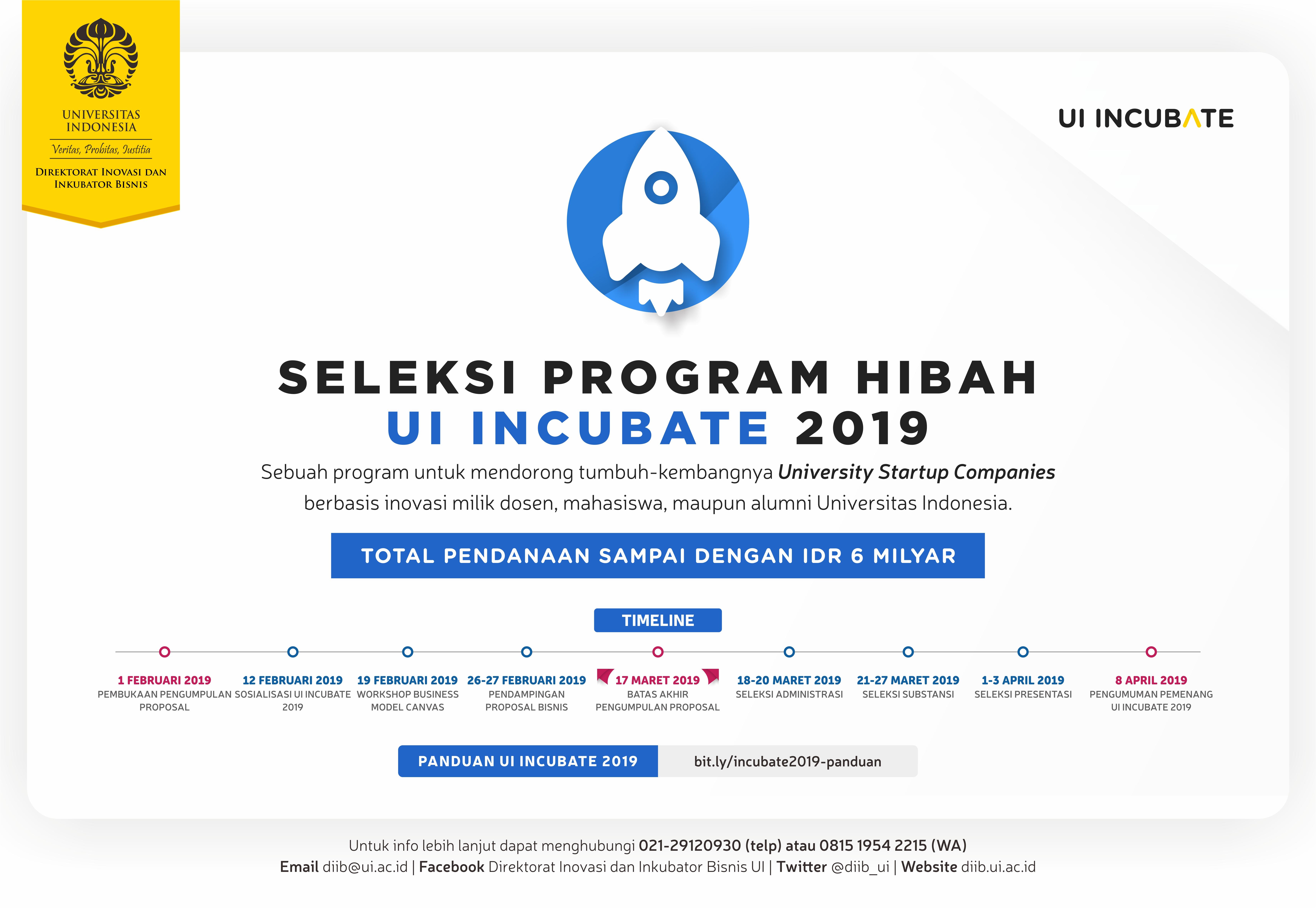 UI Incubate 2019